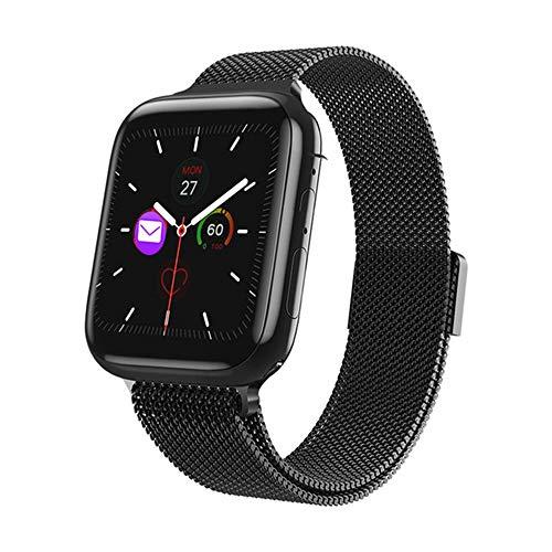 Smart horloge sport tracker sport fitness armband met Bluetooth gesprek en hartslagmeting stappenteller functie
