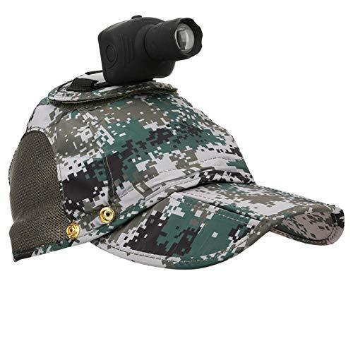 SALUTUYA Gorro de cámara multifunción Resistente al Agua, para dji Osmo Action, para Exteriores(Camouflage)