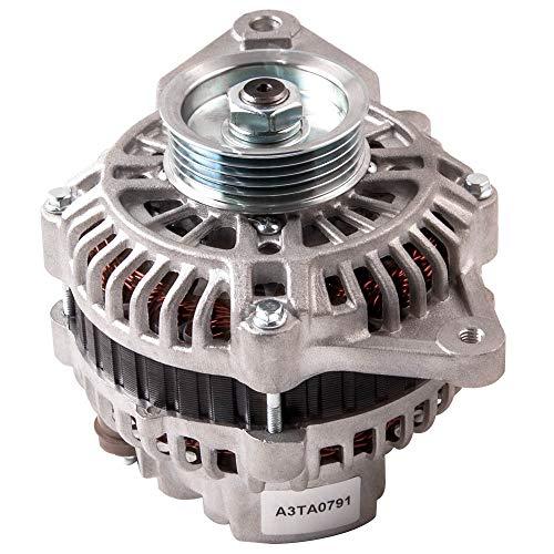 LZZJ Alternadores Alternador 12V 100A para Mitsubishi Pajero NM, Motor NP 6G74...