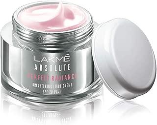 Lakme Absolute Perfect Radiance Skin lightening/Brightening Light Creme 50 g