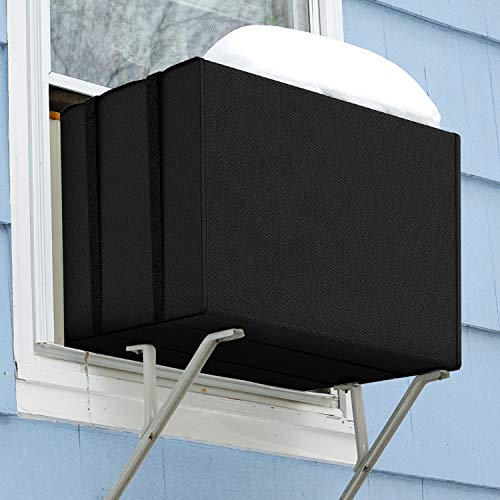 Homasen Window Air Conditioner Covers for Winter, Window AC Unit Covers Outside for Freeze Protection, Durable...