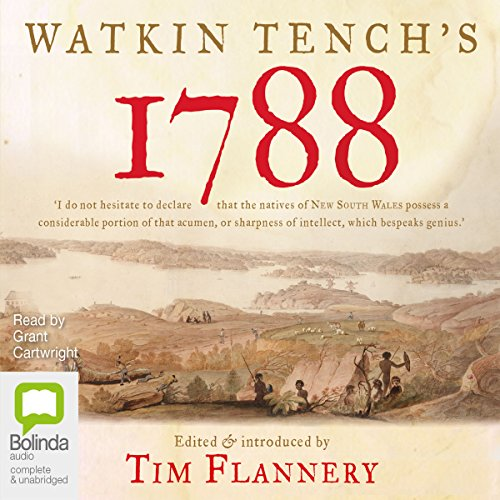 Watkin Tench's 1788  audiobook cover art