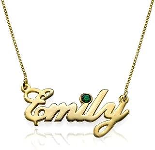 Best custom made name necklaces australia Reviews