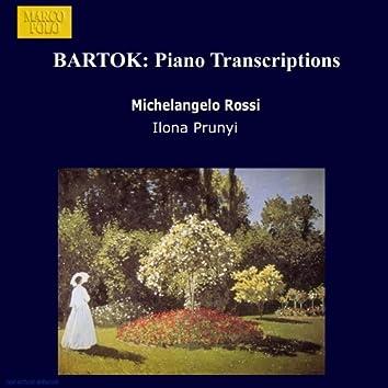 BARTOK: Piano Transcriptions