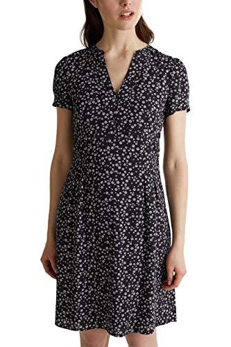 ESPRIT Damen 040EE1E352 Kleid, 403/NAVY 4, 38
