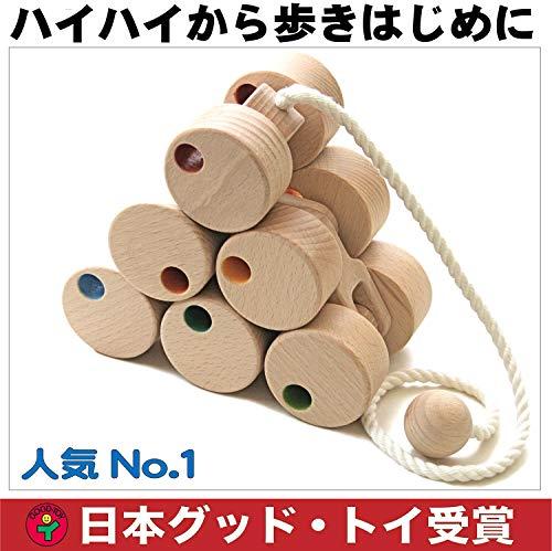 木のおもちゃ製作所・銀河工房『十二輪車ロングタイプ』