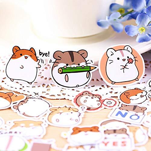 YRBB 40 stuks Creative Kawaii schattig zelfgemaakte konijntjes baby scrapbooking stickers / decoratieve stickers / DIY handwerk fotoalbums