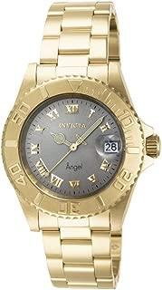 Invicta Women's 14366 Angel Analog Display Swiss Quartz Gold-Plated Watch