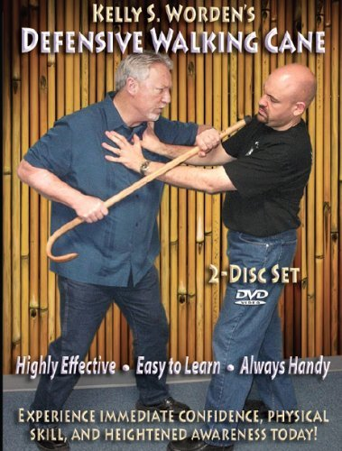 Stick Self-Defense - Kelly Worden's Defensive Walking Cane - Easy Self-defense with a Stick - Practical martial arts to keep you Safe
