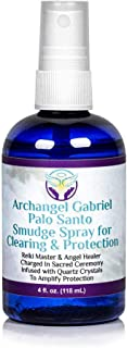 Sponsored Ad - Heal The Masses Palo Santo Spray: Archangel Gabriel Palo Santo Smudge Spray for Clearing and Protection - S...