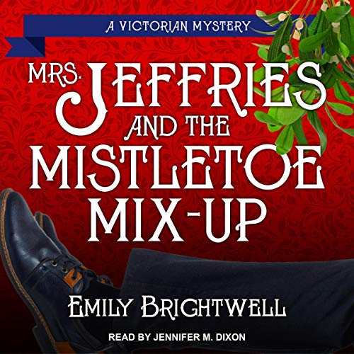 Mrs. Jeffries & the Mistletoe Mix-Up  By  cover art