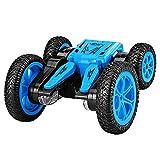 ZDYHBFE 360 ° drehbares Stuntauto 2.4G Doppelseitiges Auto Boy Spielzeugauto Wiederaufladbares...