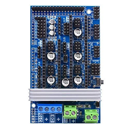 Dasorende Ramps1.6 R6 Placa Base de Control 1.6 Placa Base 4 Capas PCB Reprap Mendel Prusa Tablero Ramps Panel Compatible Mega 2560