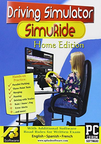 Driving Simulation and Road Rules Test Preparation – 2013 SimuRide Home Edition – Driver Education…
