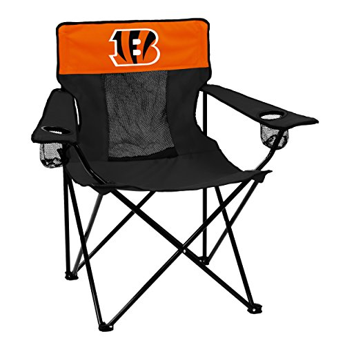 Logo Brands Officially Licensed NFL Cincinnati Bengals Unisex Elite Chair, One Size, Team Color