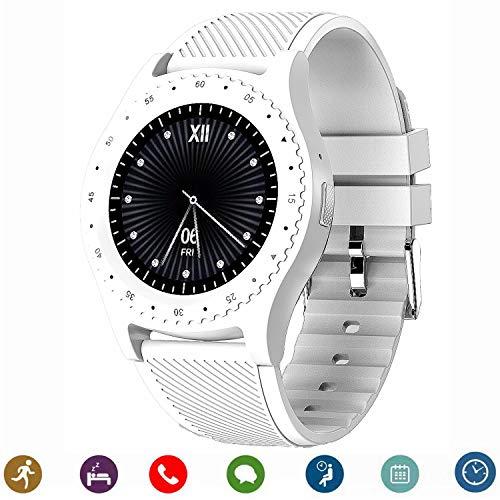 CanMixs CanMixs Bluetooth Smartwatch, CM08 Smart Uhren Telefon Unterstützung SIM TF Karte mit Kamera Benachrichtigung Sync Kompatibel für Android IOS iPhone Samsung LG Handys ?