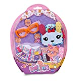 Bellies- Ropita del cole, mochila Rabbit Famosa 700015318, (la muñeca no está incluida)