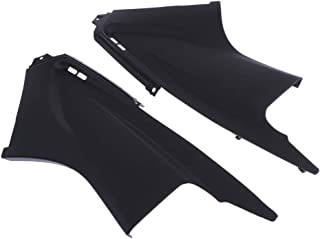 D DOLITY 2pcs Motorcycle Pair Gas Tank Side Panel Covers Fairing for Yamaha YZFR6 YZF R6 2003-2005 (Left+Right)