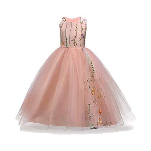 efde3f473e3c9 3-14 Years Flower Big Little Girls Pageant Dress Girl Tulle Wedding  Princess Gown Party