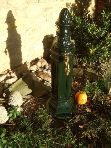 Antikas Pompe de jardin de l'eau Pompe, Pompe de Fontaine, en aluminium Support Fontaine