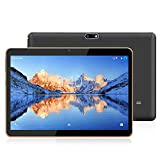 YOTOPT 10.1 Pouces Tablette Tactile - 3G/WiFi, Android 9.0, Quad Core, 48 Go, 4 Go de RAM, Doule SIM, Bluetooth, GPS, OTG - Noir