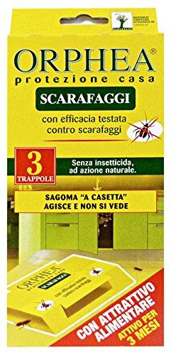 ORPHEA Set 12 Scarafaggi Trappola X 3 Pezzi Articoli Per Insetti