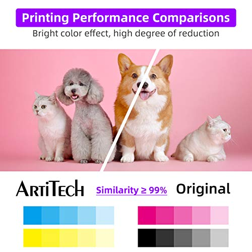 ArtiTech CLI-42 M Pixma Pro-100 Compatible Ink Cartridges Replacement for Canon CLI42 CLI-42 Magenta Ink Cartridge Work for Pixma Pro-100S Printers,2 Pack CLI-42 M Photo #7