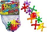 New JA-RU Big Jacks Toy Set (Pack of 1 Units) Kids Jax Classic Games Great Party Favors or Pinata Filler in Bulk. 731-1C