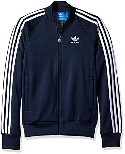 adidas Originals Men's Outerwear Superstar Track Jacket, Legend Ink, Small