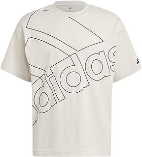 adidas mens ESSENTIALS GIANT LOGO T-SHIRT (LOOSE FIT) T-Shirt