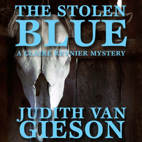 The Stolen Blue audiobook cover art
