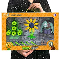 Inresting Plants Vs Zombie Toys 2 Complete Set of Boys Soft Silicone Anime Figure Children's Dolls Kids Birthday Toy Gifts Zombie Skittles PeaShooter