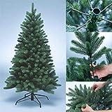 Xenotec Voll PE Weihnachtsbaum künstlich Höhe ca. 150 cm naturgetreu