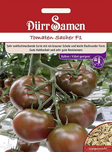 Dürr Samen Schokoladen Tomate Sacher F1 6 Korn 4248