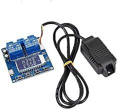 CUHAWUDBA Controlador de Temperatura de Humedad TermóMetro Digital MóDulo de Control de HigróMetro Salida Dual LCD Tablero Regulador AutomáTico Constante