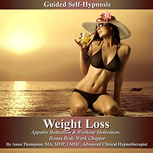 Weight Loss Guided Self-Hypnosis audiobook cover art