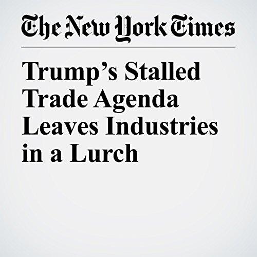 Trump's Stalled Trade Agenda Leaves Industries in a Lurch copertina