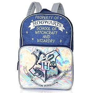 Harry Potter Bolsa para Mujer Y Adolescentes   Mochilas con Impresión De Estilo Vaquero   Amplia Mochila para La Escuela… 1