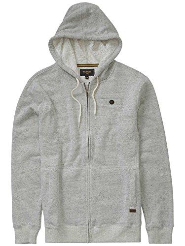 BILLABONG Balance Shepra Sweat-Shirt à Capuche Homme, Gris (LT Grey Heather), FR (Taille Fabricant : XL)