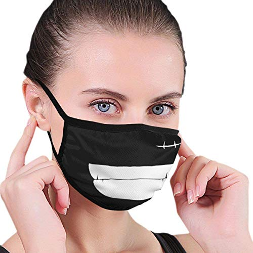 Sonrisa de pirata – Luffy lavable reutilizable decoraciones faciales para hombres, mujeres y niños