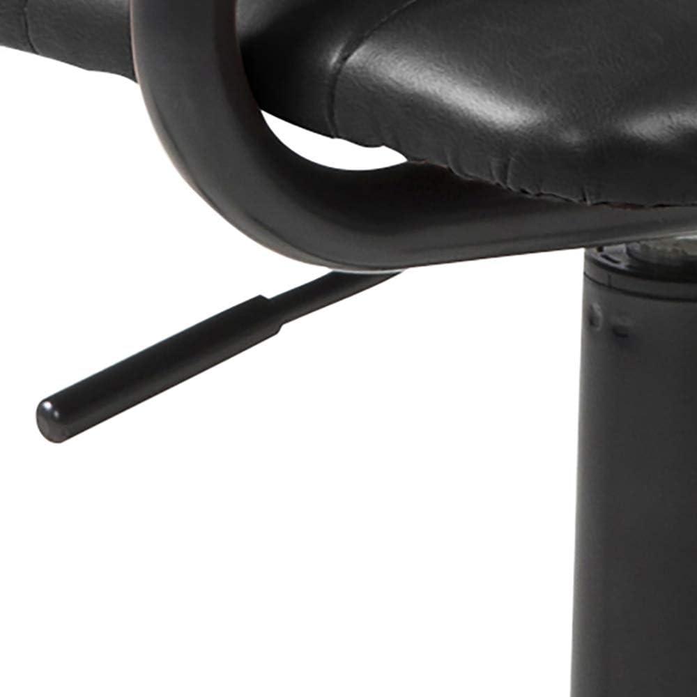 Marque Amazon - Movian Dubna - Chaise de bureau, 58 x 45 x 103 cm, Marron Noir