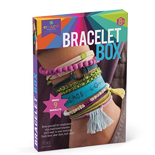 Bracelet Making craft makes a nice Easter gift for teen girls