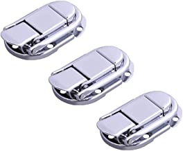 DOITOOL 3 stks ijzeren Toggle Catch stevige koffer houten doos Flight Case Latch gesp metalen Hasps (Zoals afgebeeld)