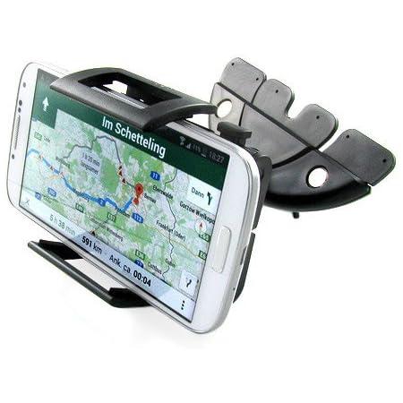Gps Halterung Apps2car Cd Slot Gps Halterung Halterung Base Kompatibel Mit Garmin Nuvi Serie 3 5 7 Zoll 8 9 17 8 Cm Sat Nav Cd Player Halterung Elektronik