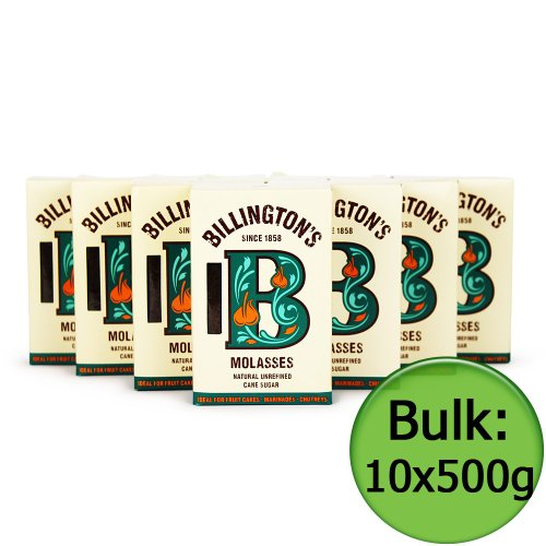 Billingtons | Sugar - Molasses | 10 x 500G