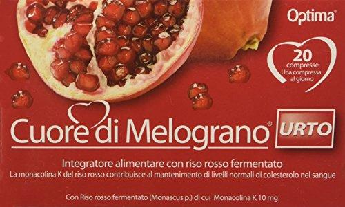 Optima Naturals IAF00083677 Cuore di Melograno, Urto 20 Compresse
