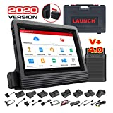 LAUNCH X431 V+ Full System Scan Tool (Upgraded Ver. of X431 V PRO) Diagnostic Scanner Bi-directional Code Reader ECU Coding Key Program 30+ Service Functions Oil Reset ABS Bleeding 2 Years Free Update