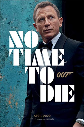 James Bond No Time To Die - Azure Teaser Poster Multicolore