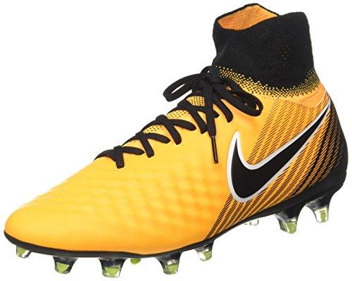 Nike Herren Magista Orden II FG 843812 801 Fußballschuhe, Orange (Laser Orange/Black-White-Volt), 42 EU
