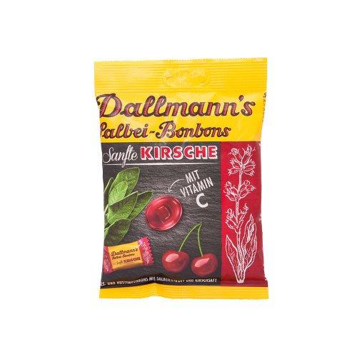 DALLMANN'S Salbei Kirsch Bonbons 60 g Bonbons